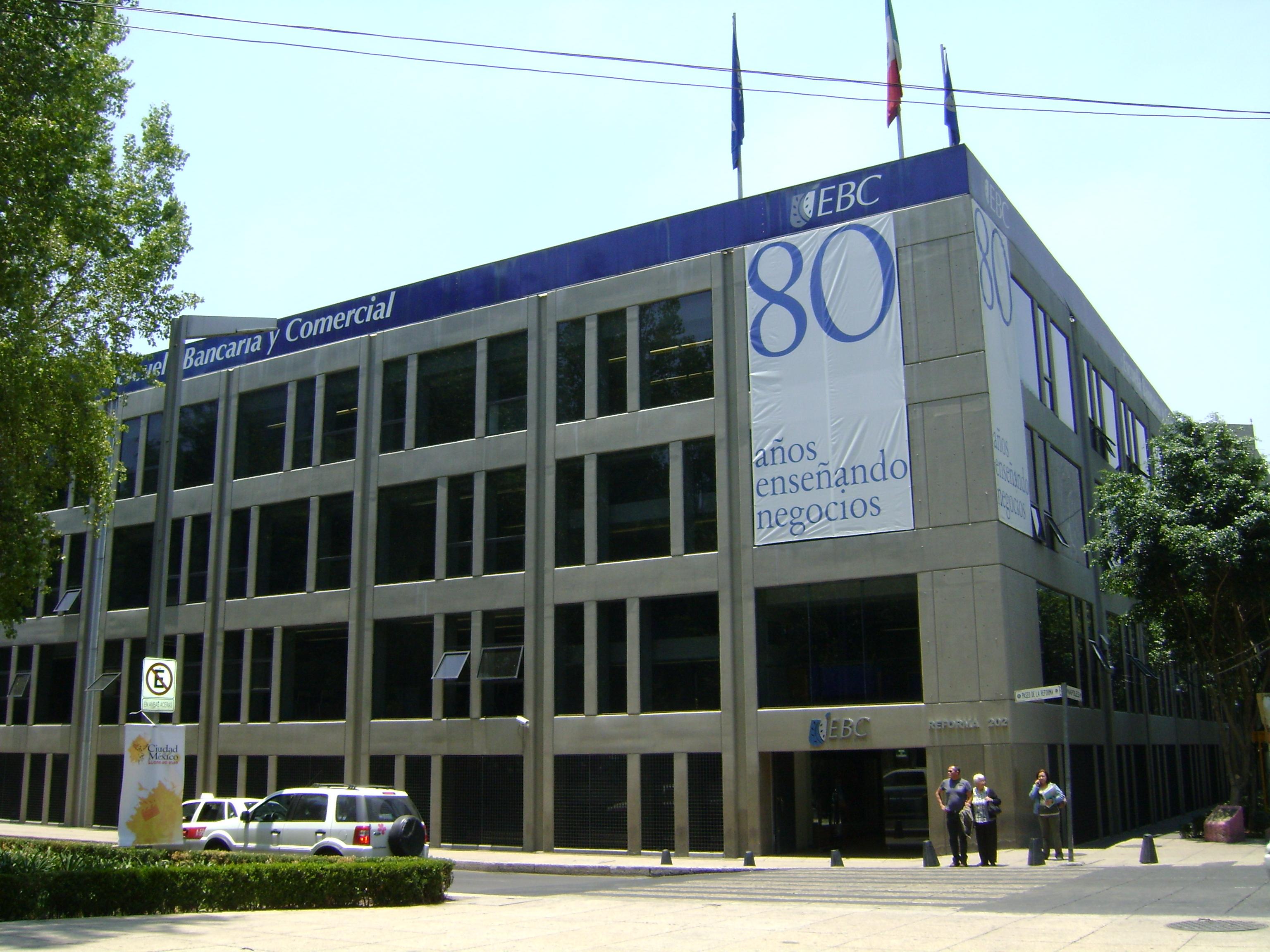 escuela bancaria y comercial