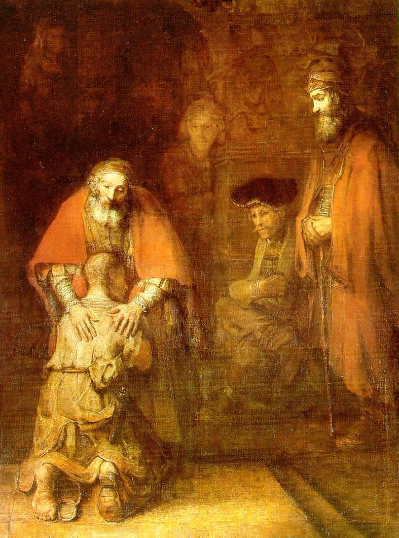 Rembrandt's Return of Prodigal Son