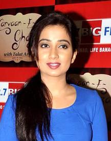 Oh Baby Once Again Kannada Song Download : again, kannada, download, Shreya, Ghoshal, Wikipedia