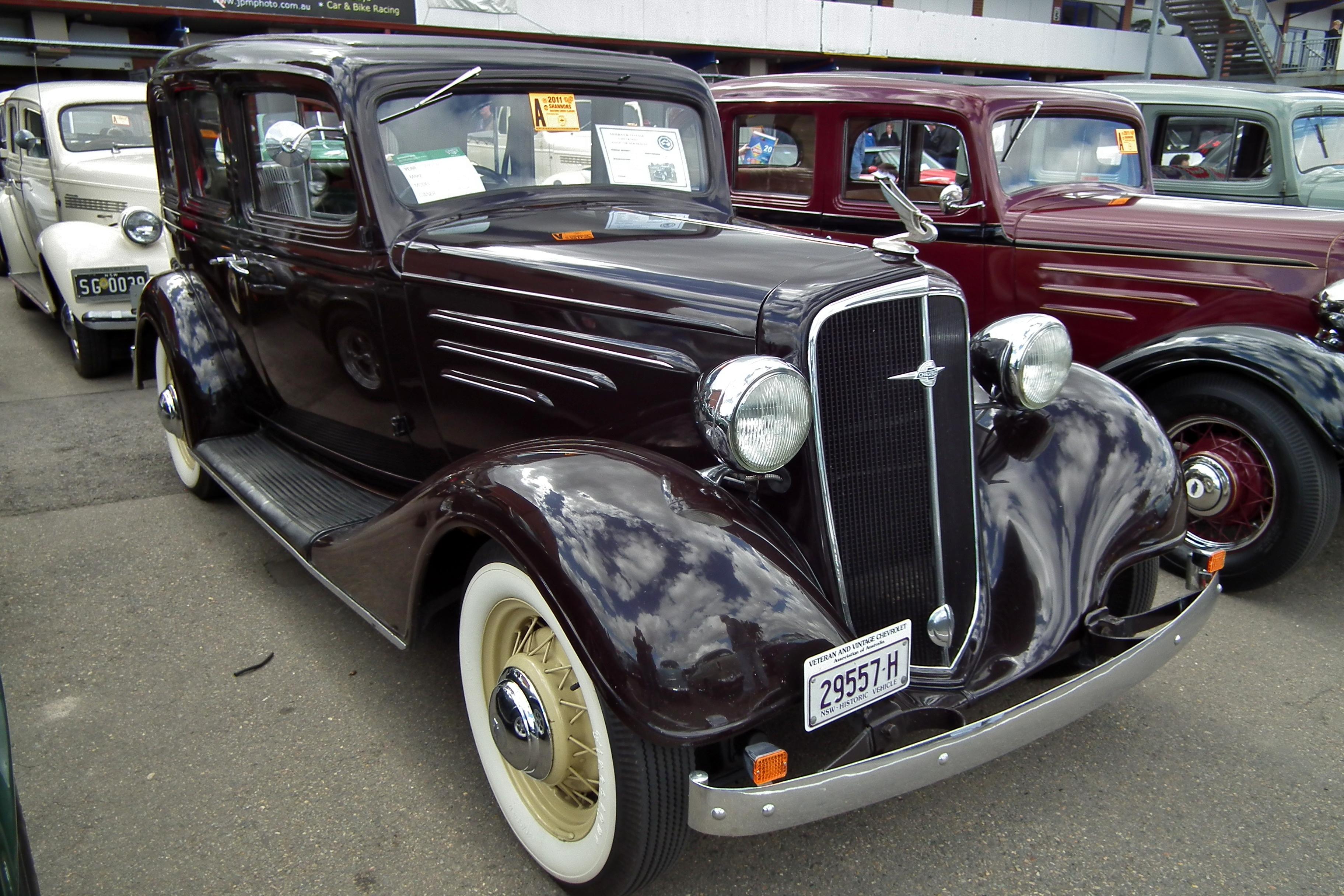 1934 Chevrolet Master Sedan