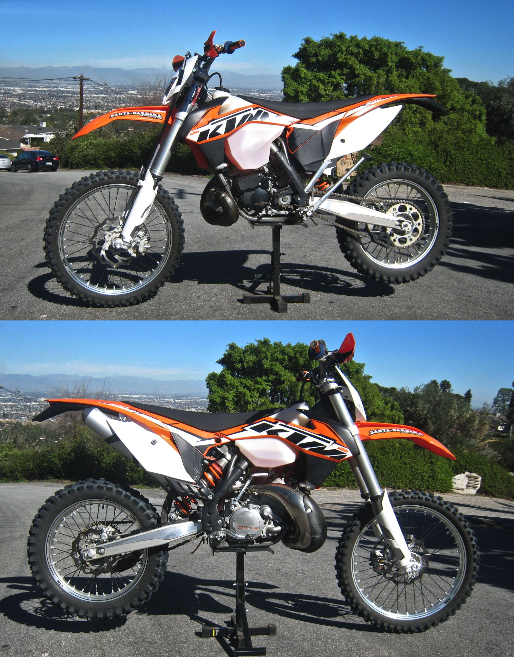 hight resolution of ktm 200