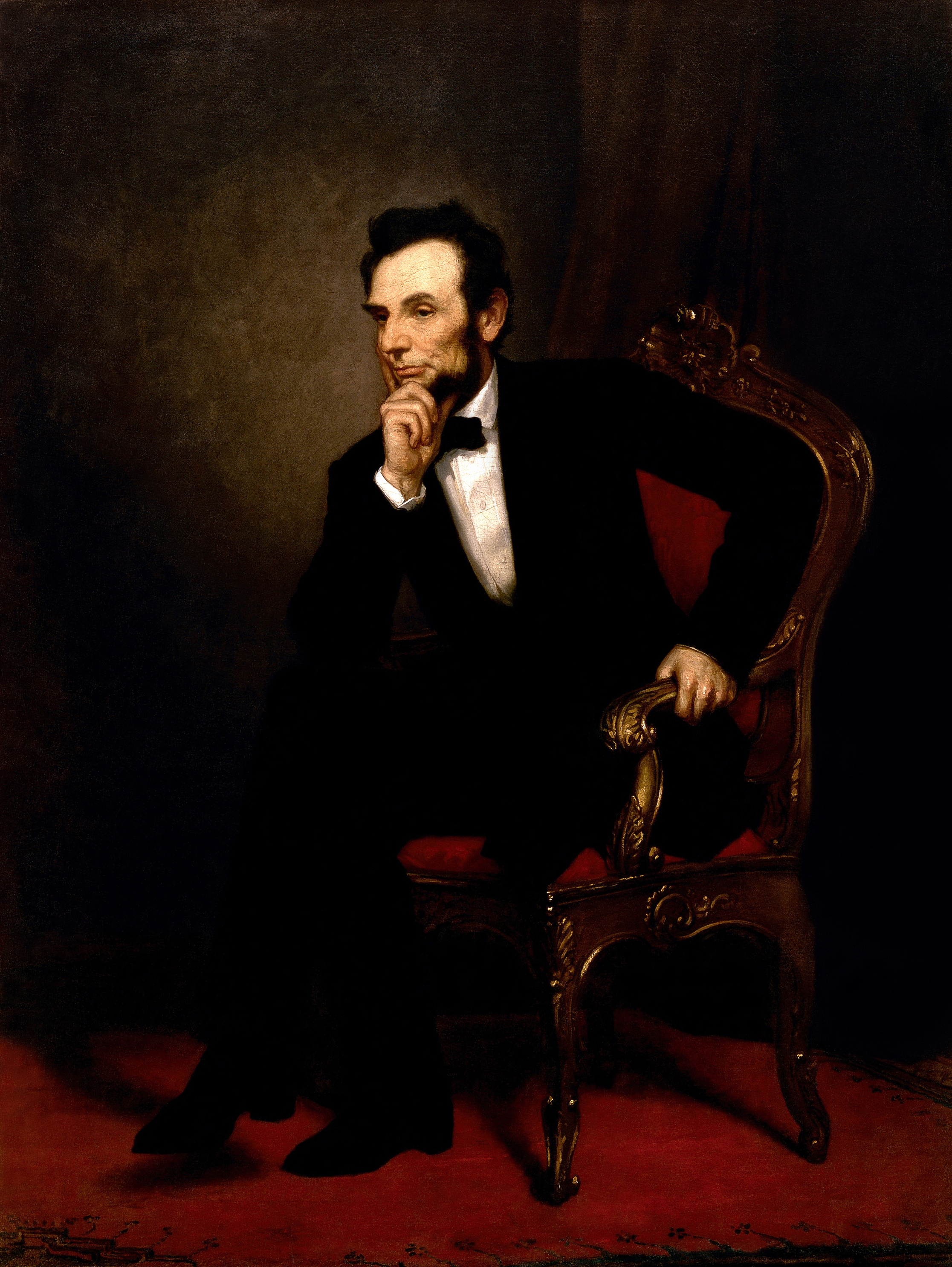 President Abraham Lincoln was descended from S...