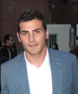 English: Spanish footballer Iker Casillas (ima...