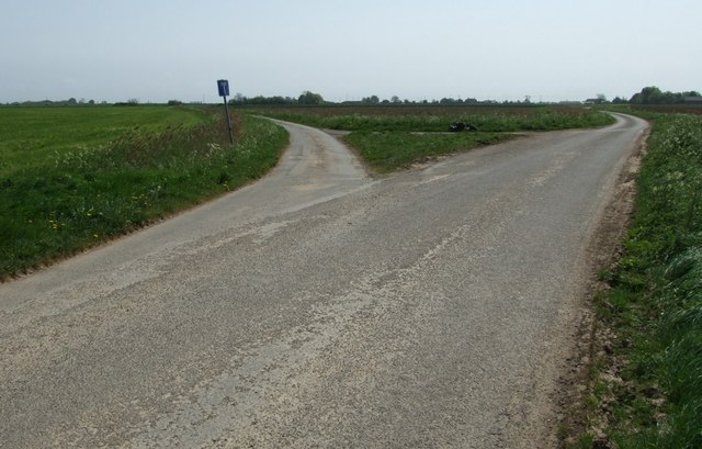 File:Road Fork - geograph.org.uk - 415867.jpg