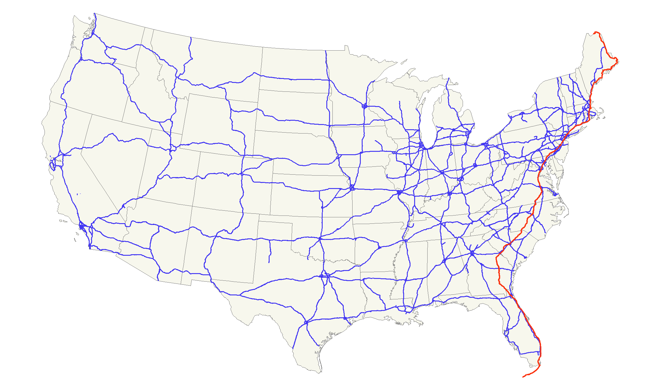 map of florida highways