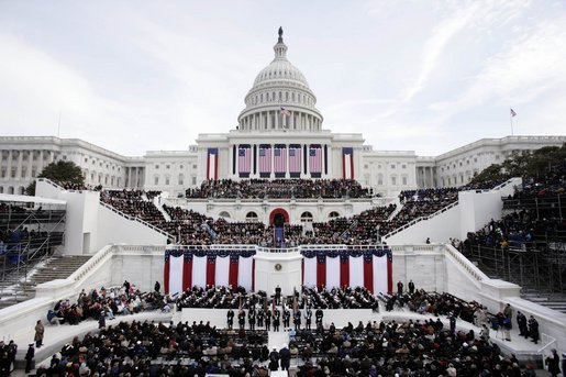 Swearing-in ceremony, Inaugural Parade, and official Inaugural Balls.  The 2009 inaugural events are expected to draw record breaking crowds to Washington, DC.  Washington Metro is gearing up for the events with increased hours and security.