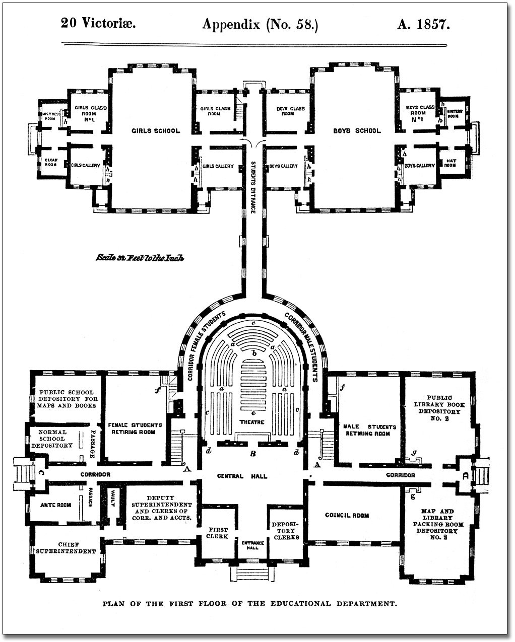 File:Architectural measured drawings showing the floor