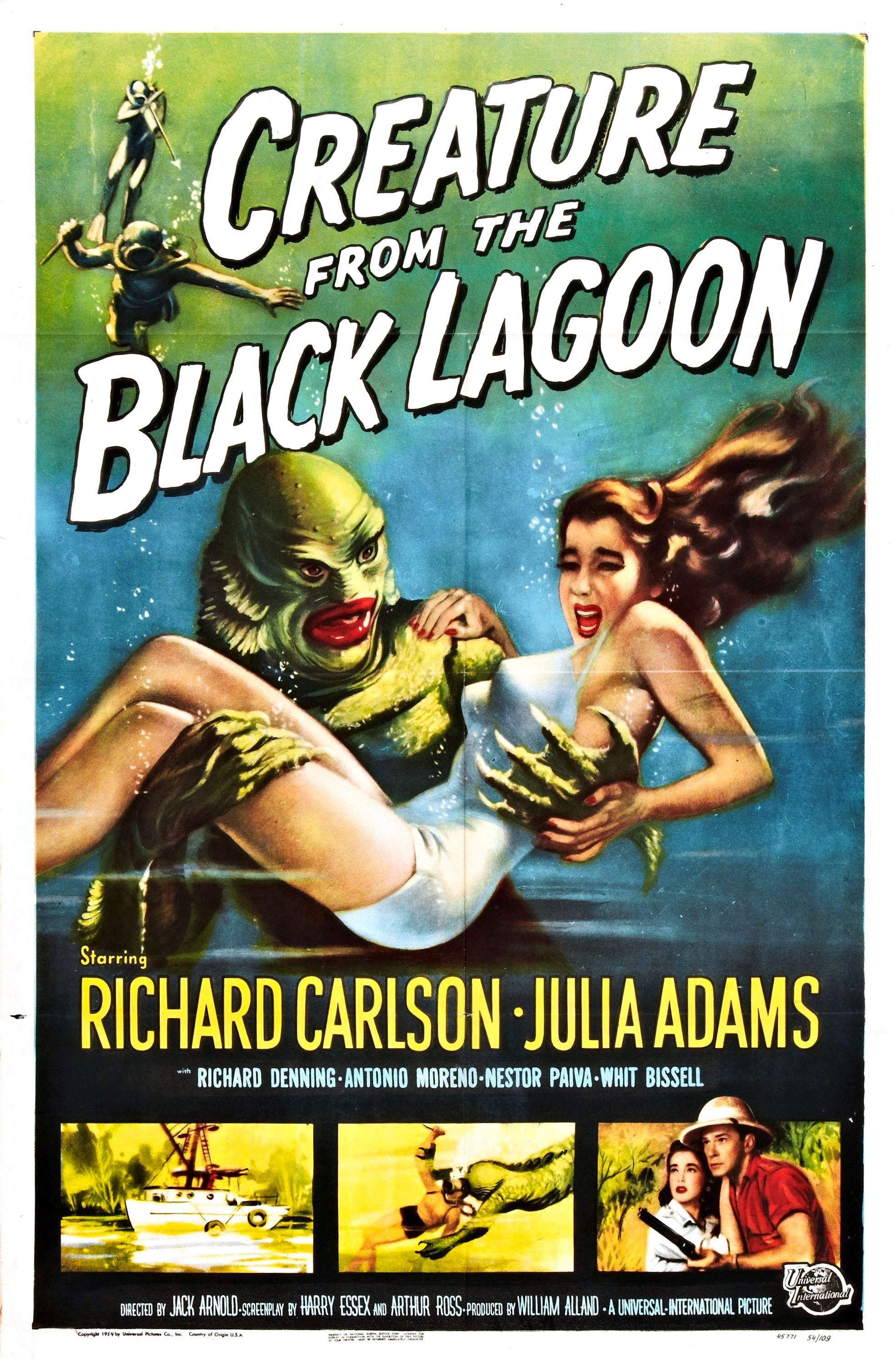 La Créature Du Lagon Noir : créature, lagon, Creature, Black, Lagoon, Wikipedia