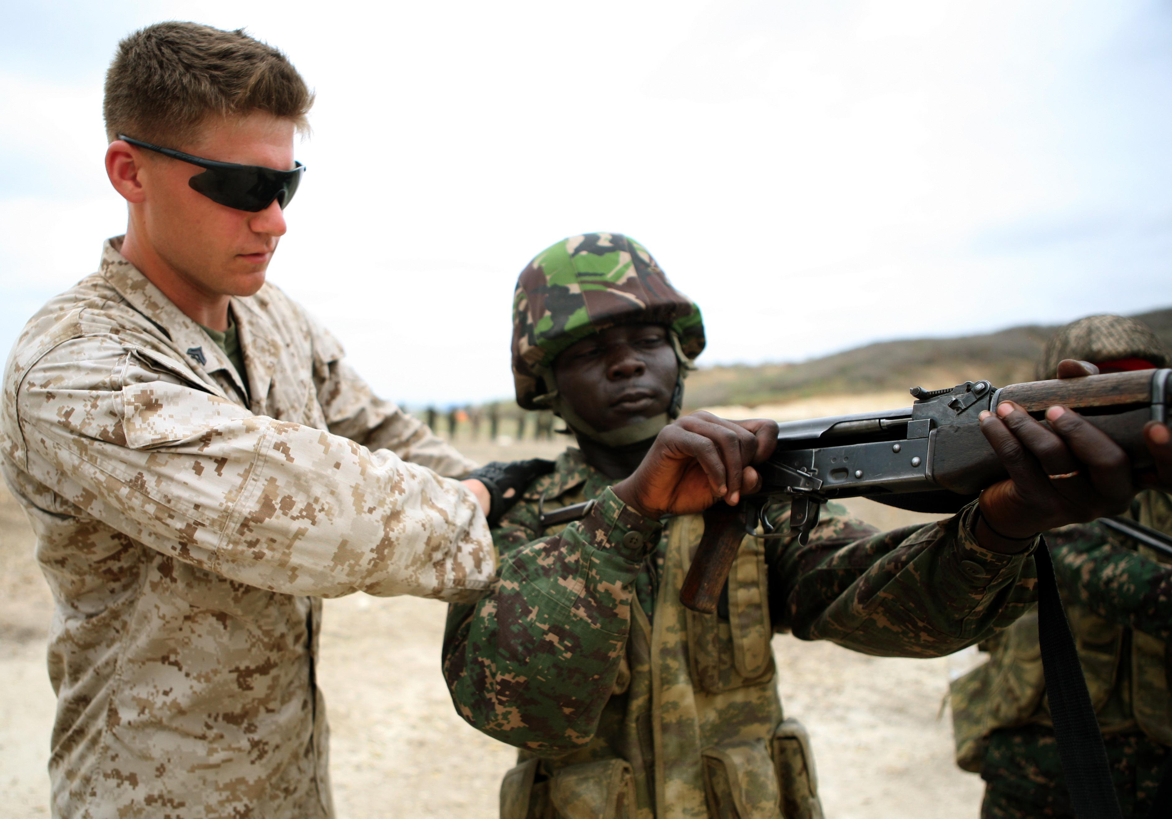 File U S Marine Corps Cpl John P Maggard A Range Coach