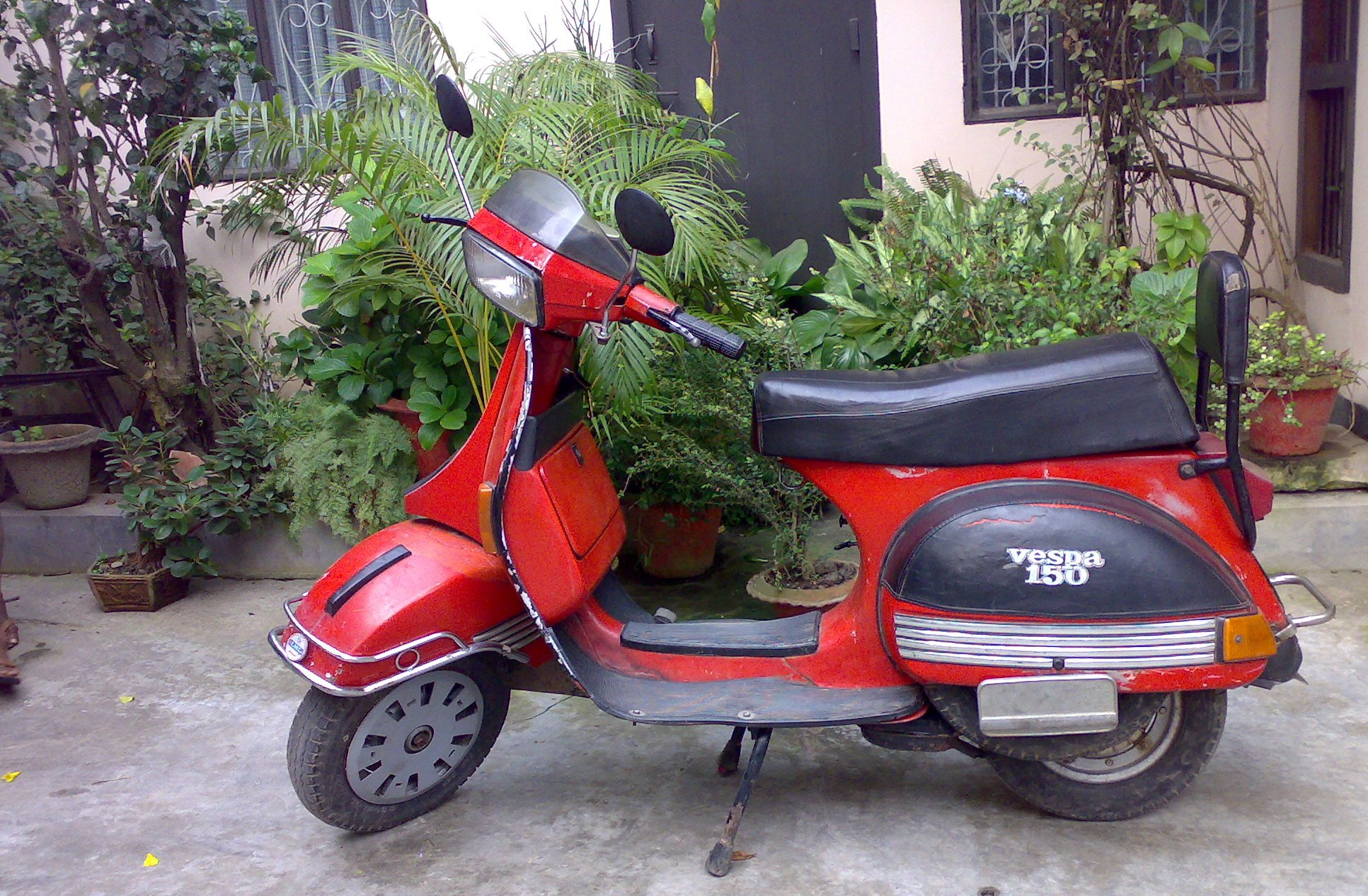 hight resolution of vespa t5