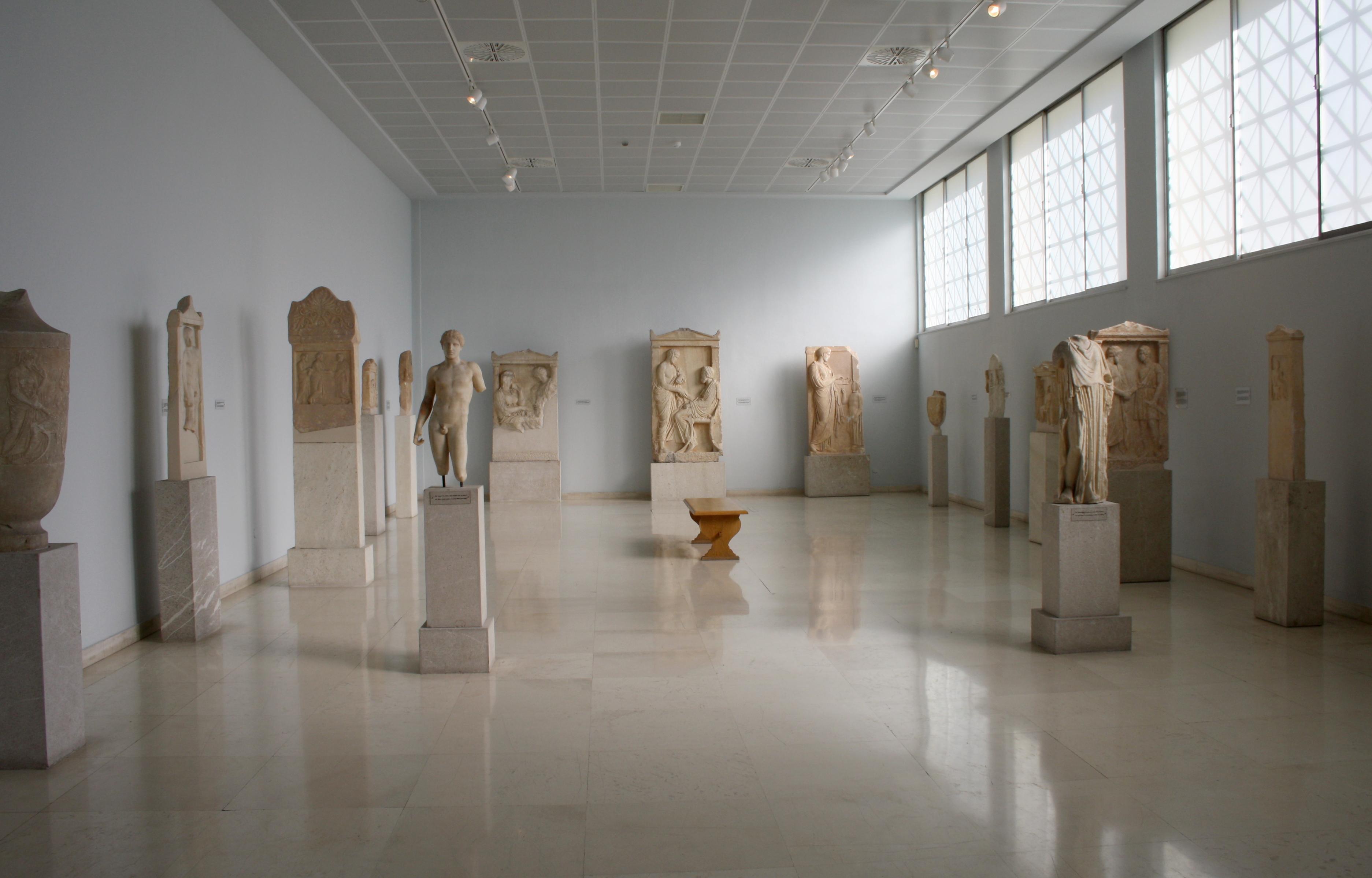 File7505  Piraeus Arch Museum Athens  1st floor room