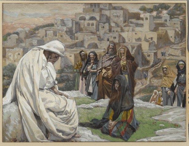 """Jesus Wept"" by James Tissot"