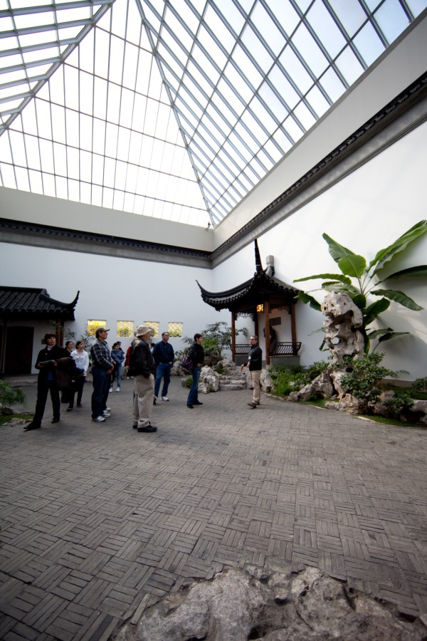 File Chinese Courtyard In Style Of Ming Dynasty Metropolitan Museum Art Nyc Usa