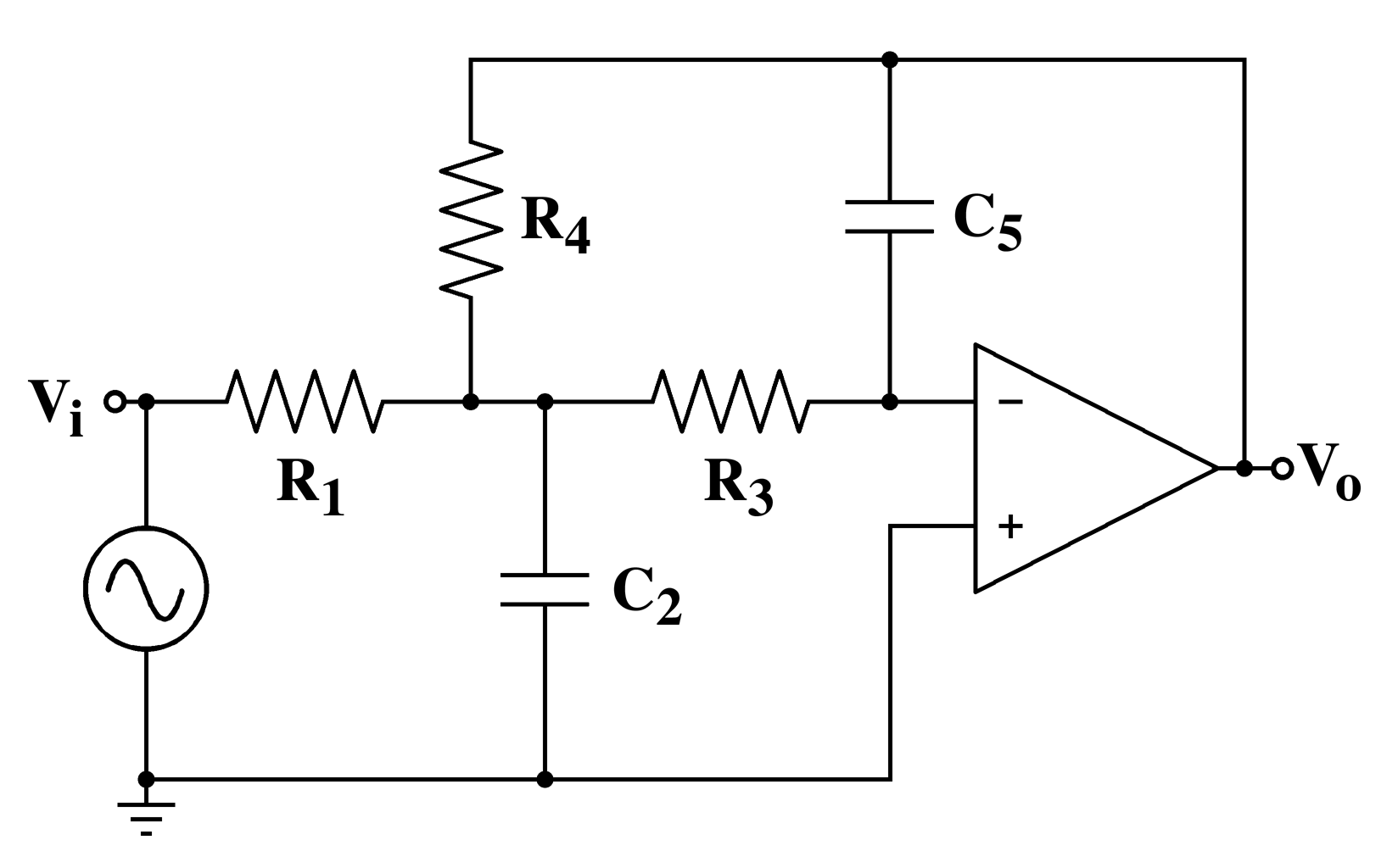 Electronic Filter Topology