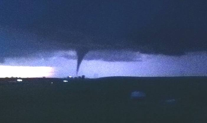 Tornado in Reading, Kansas
