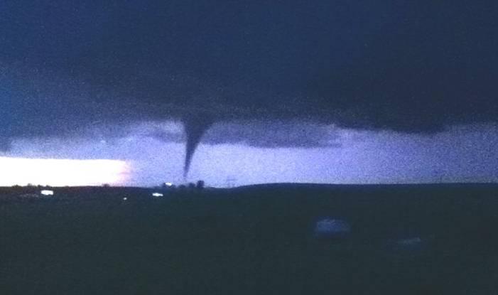 Tornado in Reading, Kansas
