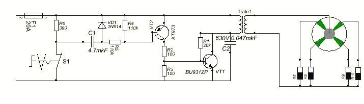 Cb Wire Diagram Example Of A Basic Electronic Ignition System