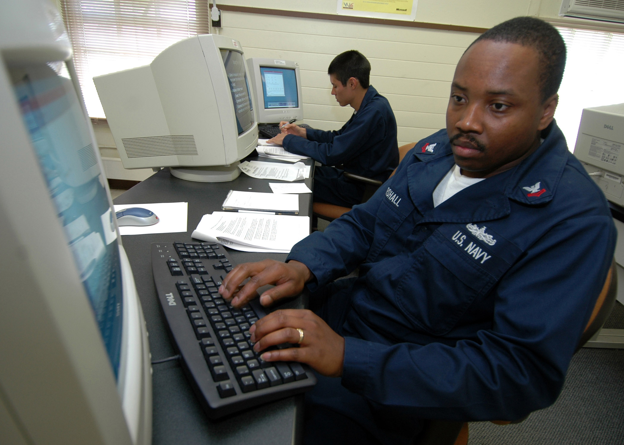 File US Navy 070214 N 0879R 001 Information Systems