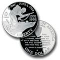 English: World War II 50th Anniversary Silver ...