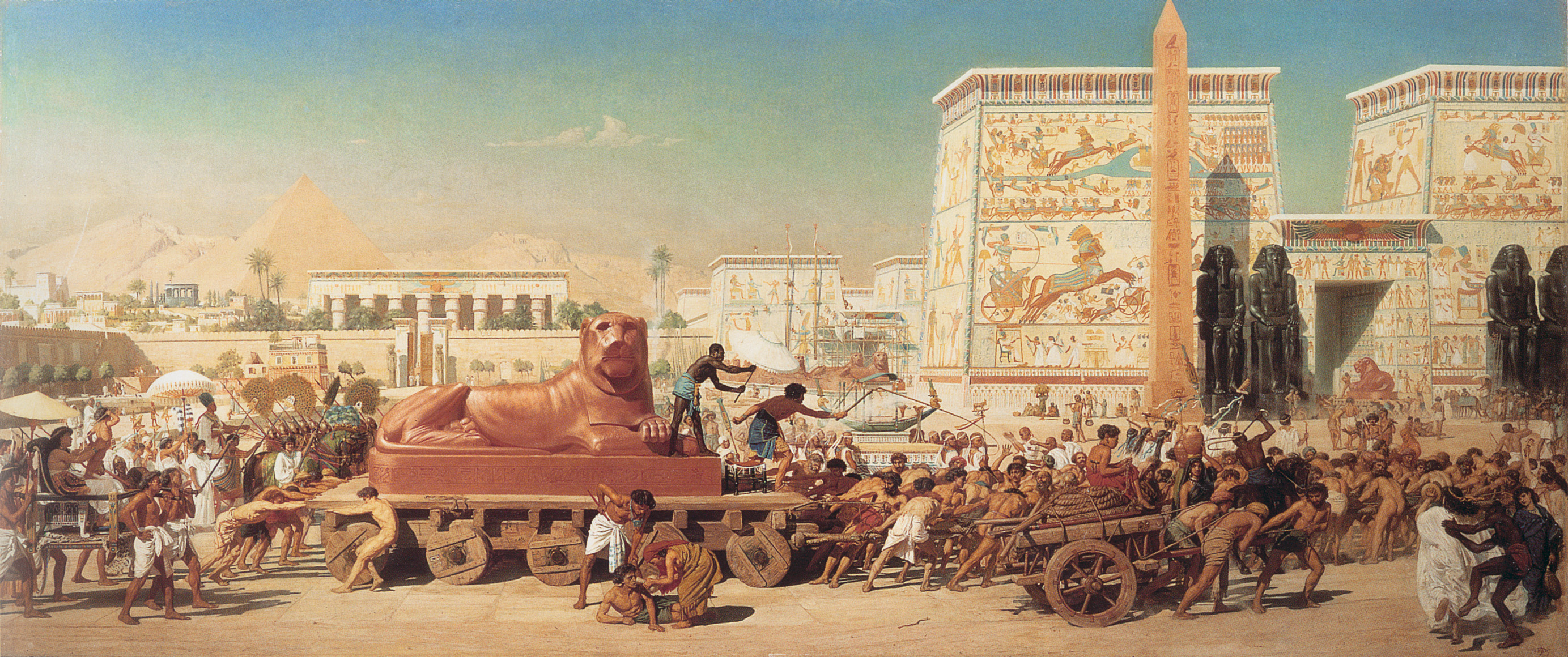 Image of Edward Poynter - Israel in Egypt