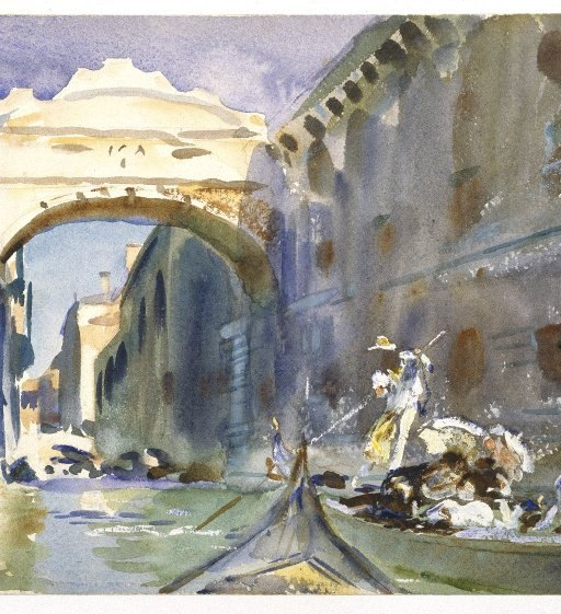 John Singer Sargent Paintings at the Brooklyn Museum
