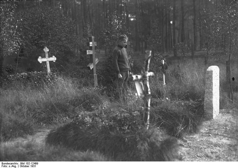 Aufnahme aus dem Jahr 1931
