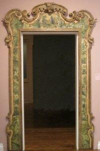 File:Door frame, 18th century Venice, wood, polychrome ...