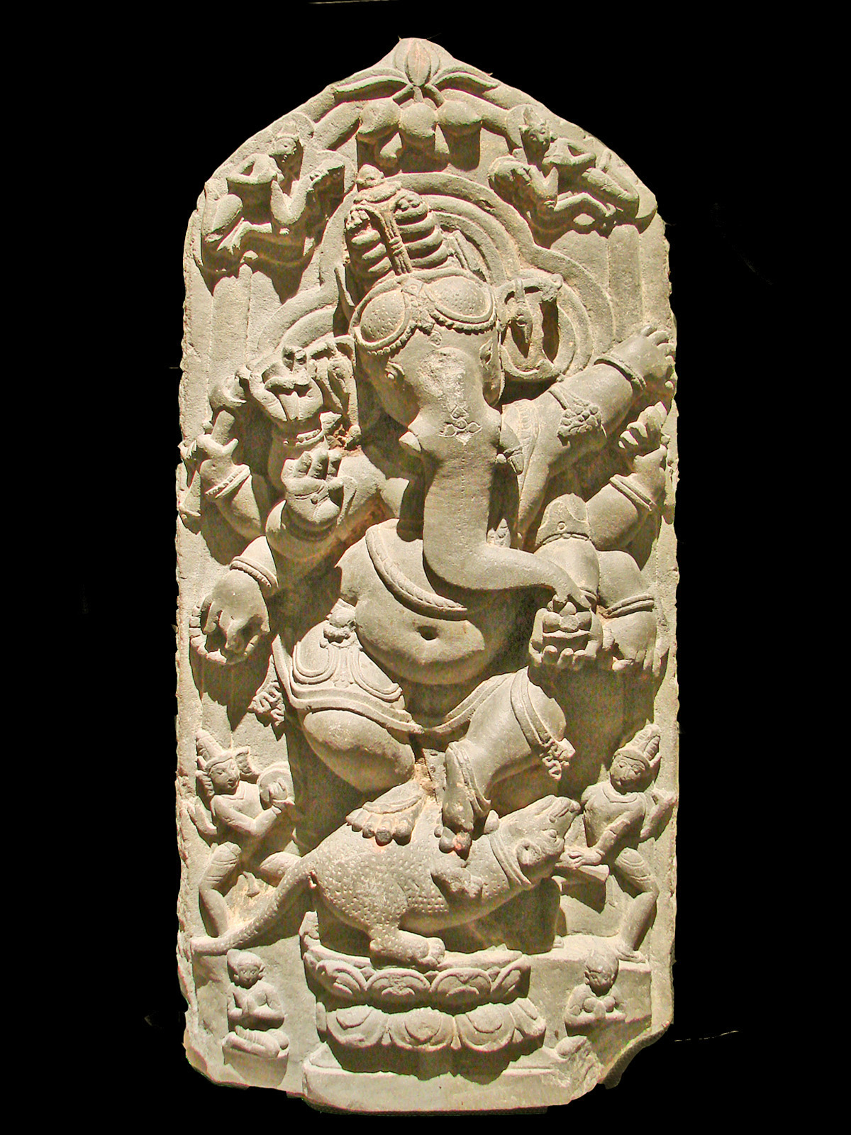 Lord Ganesh is the Hindu god that removes obstacles... take a little statue of him to keep you blanaced, especailly when you travel...