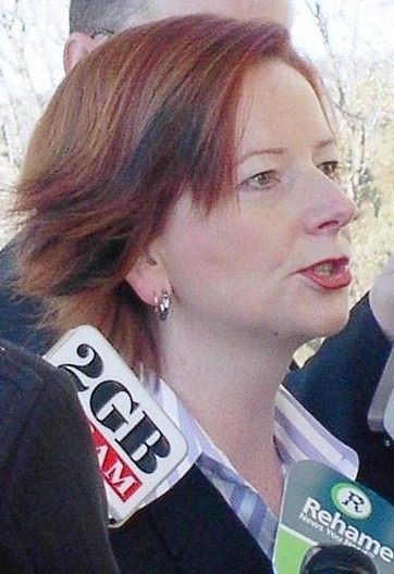 English: Julia Gillard