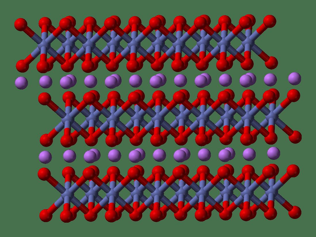 cobalt oxide lewis diagram world war 1 trench lithium wikipedia