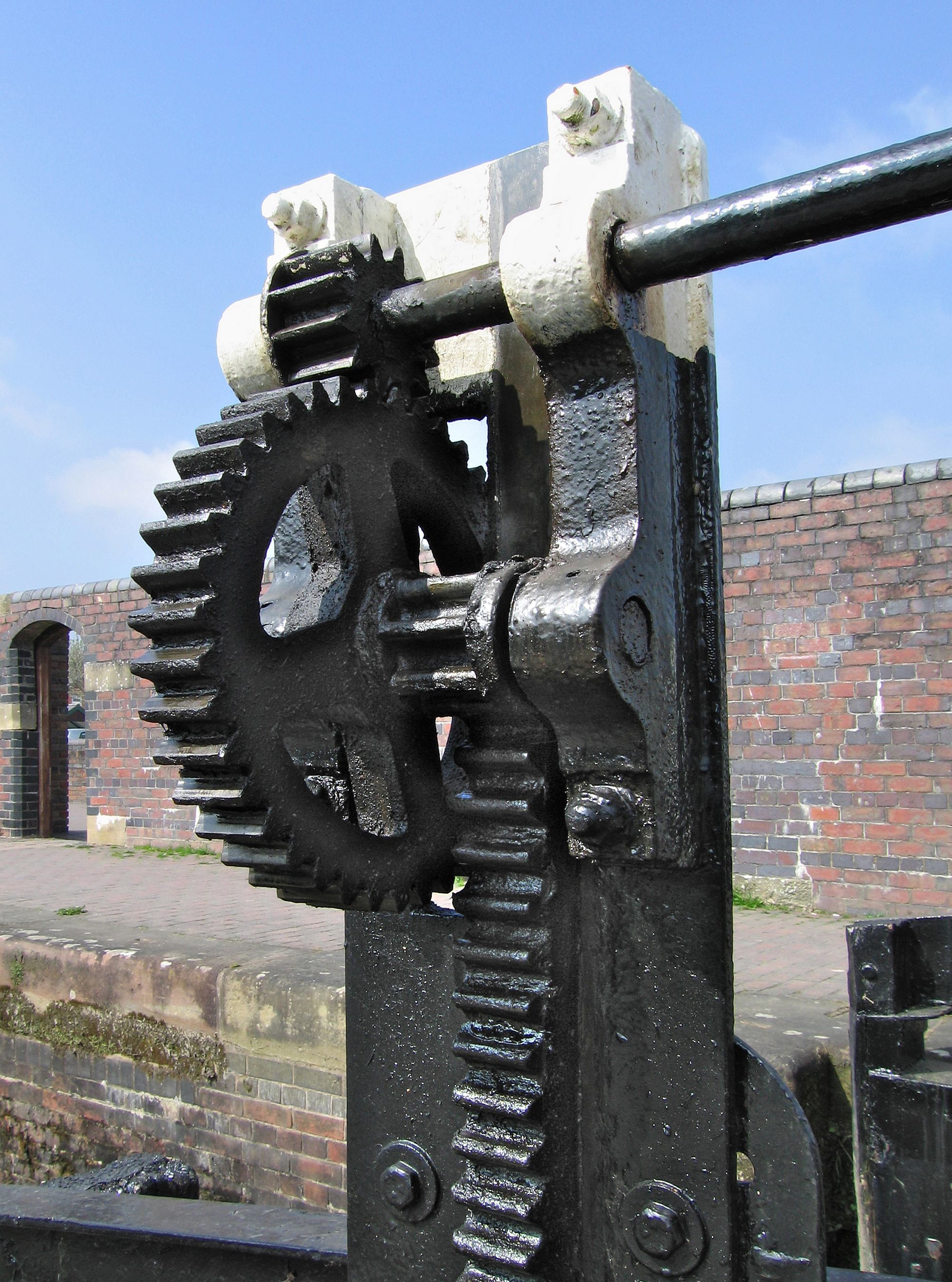 Simple Gear Train Real Life