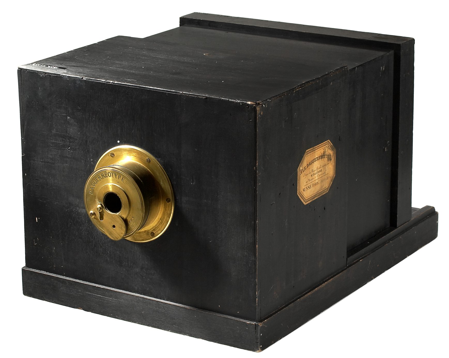 Daguerreotype camera built by La Maison Susse ...