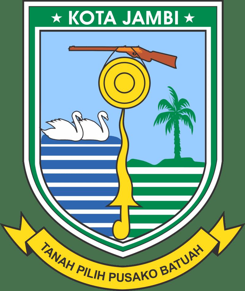 Coat of Arms, or Shield, (Lambang) of City (Ko...