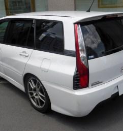 mitsubishi lancer evolution wagon japan  [ 2436 x 1742 Pixel ]