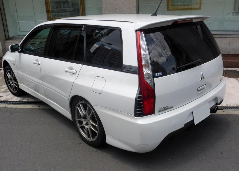 medium resolution of mitsubishi lancer evolution wagon japan