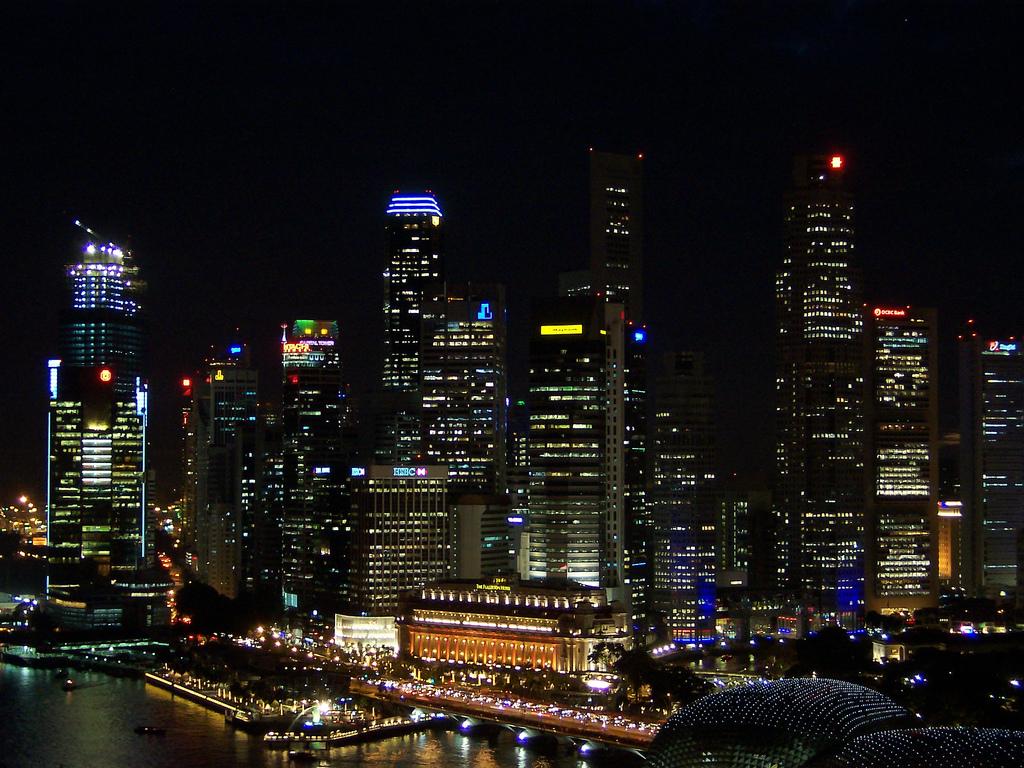 pemandangan kota terindah di dunia malam hari  Pemandanganoce