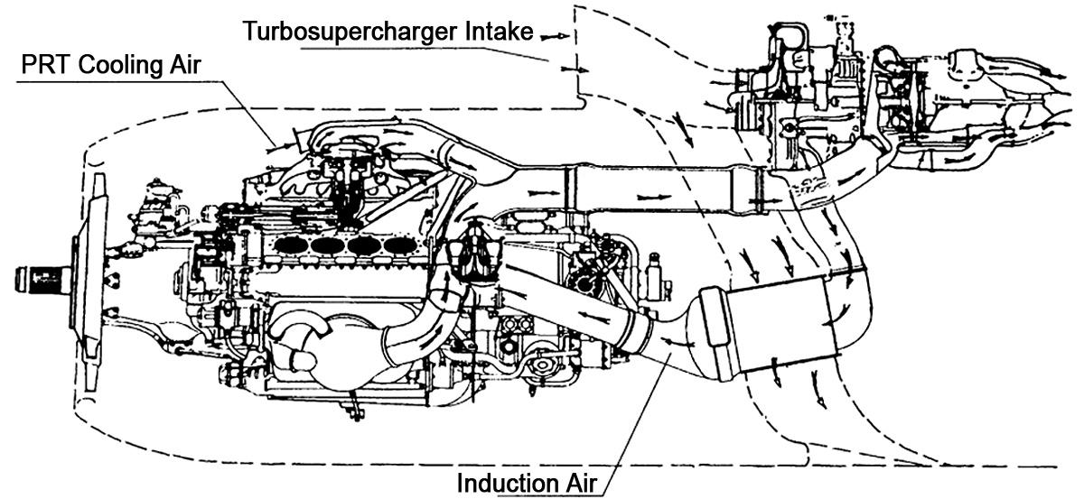 File:Triebwerksinstallation der Tu-85 Dobrynin WD-4K .jpg