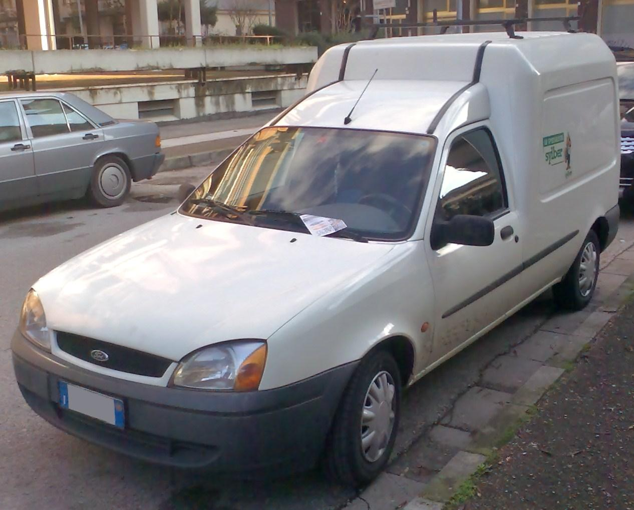 hight resolution of ford courier van europe