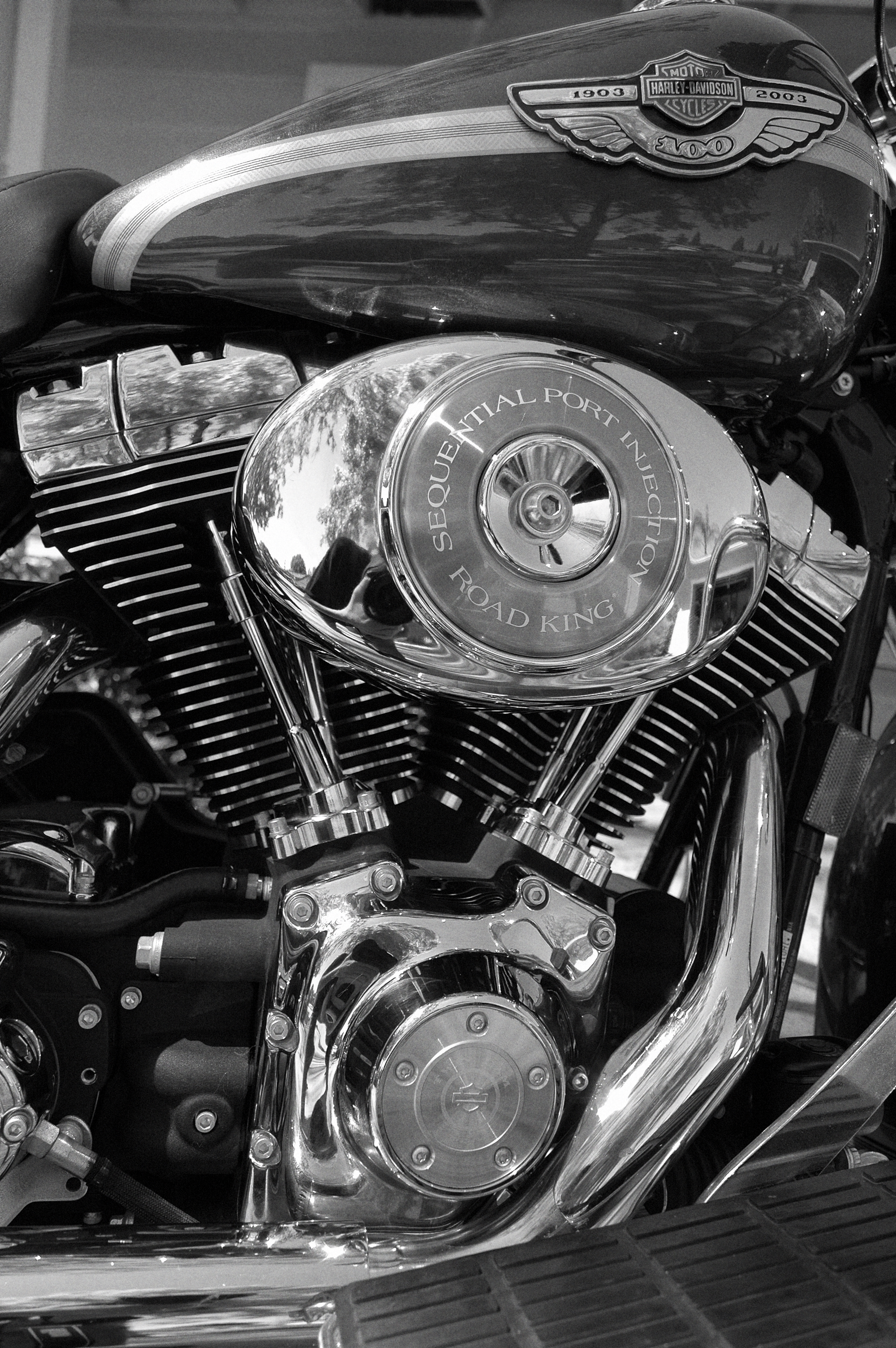 hight resolution of v twin engine