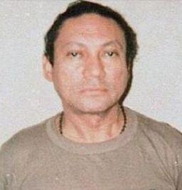 Manuel Noriega mugshot cropped