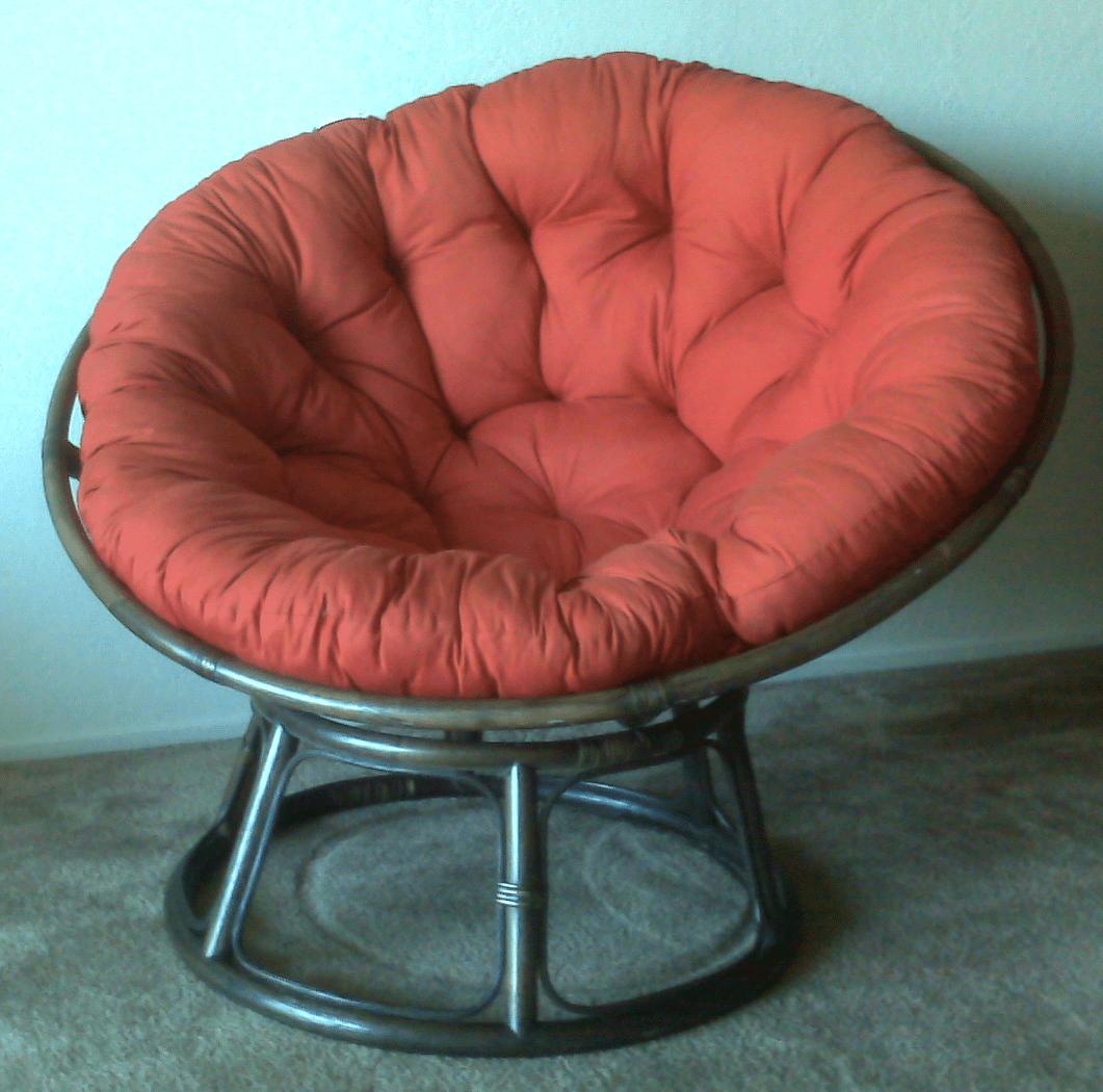 Sunnyside Upstairs Deciding to Buy a Papasan Chair
