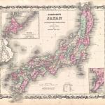 File 1862 Johnson Map Of Japan Geographicus Japan Johnson 1862 Jpg Wikimedia Commons