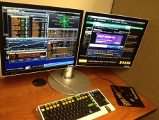 That's our Bloomberg Terminal and you can't use it.