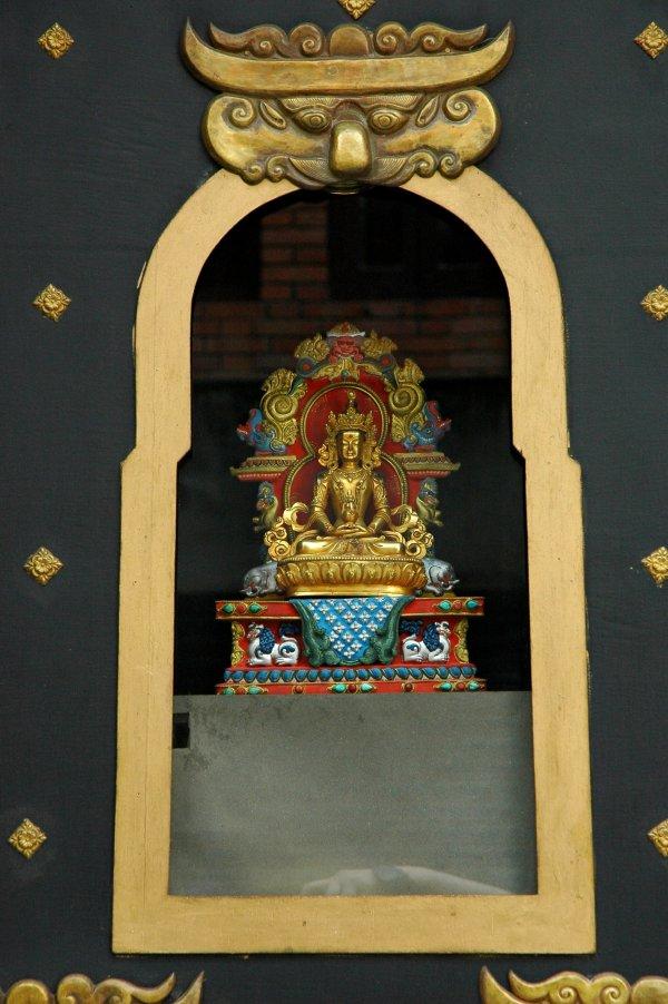 Ancient Buddha Statue Nepal