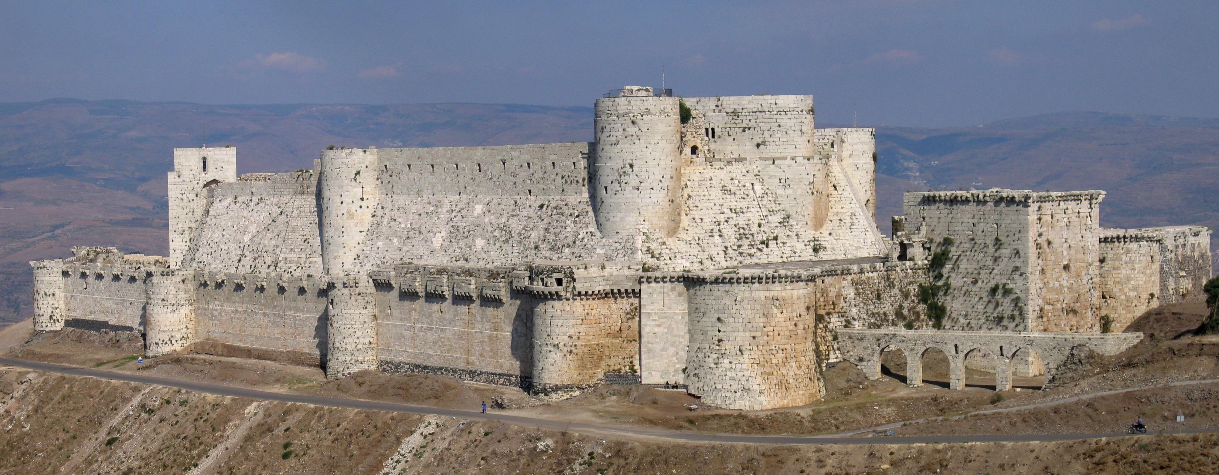 Krak des Chevaliers in Syria.