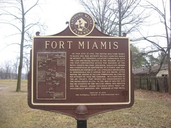 Fort Detroit Historical Marker