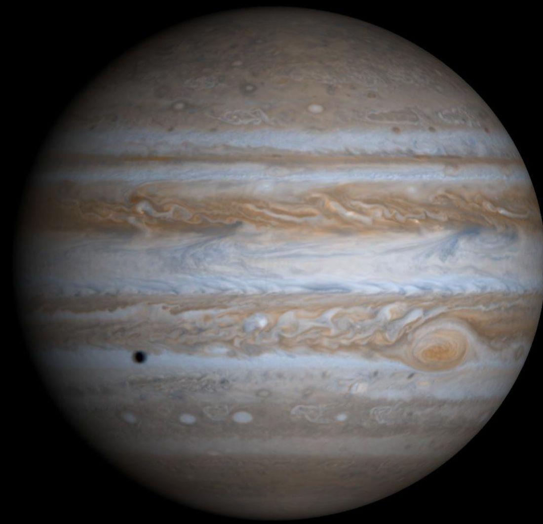 Jupiter by Cassini Hyugens