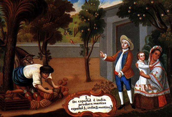 pintura de castas