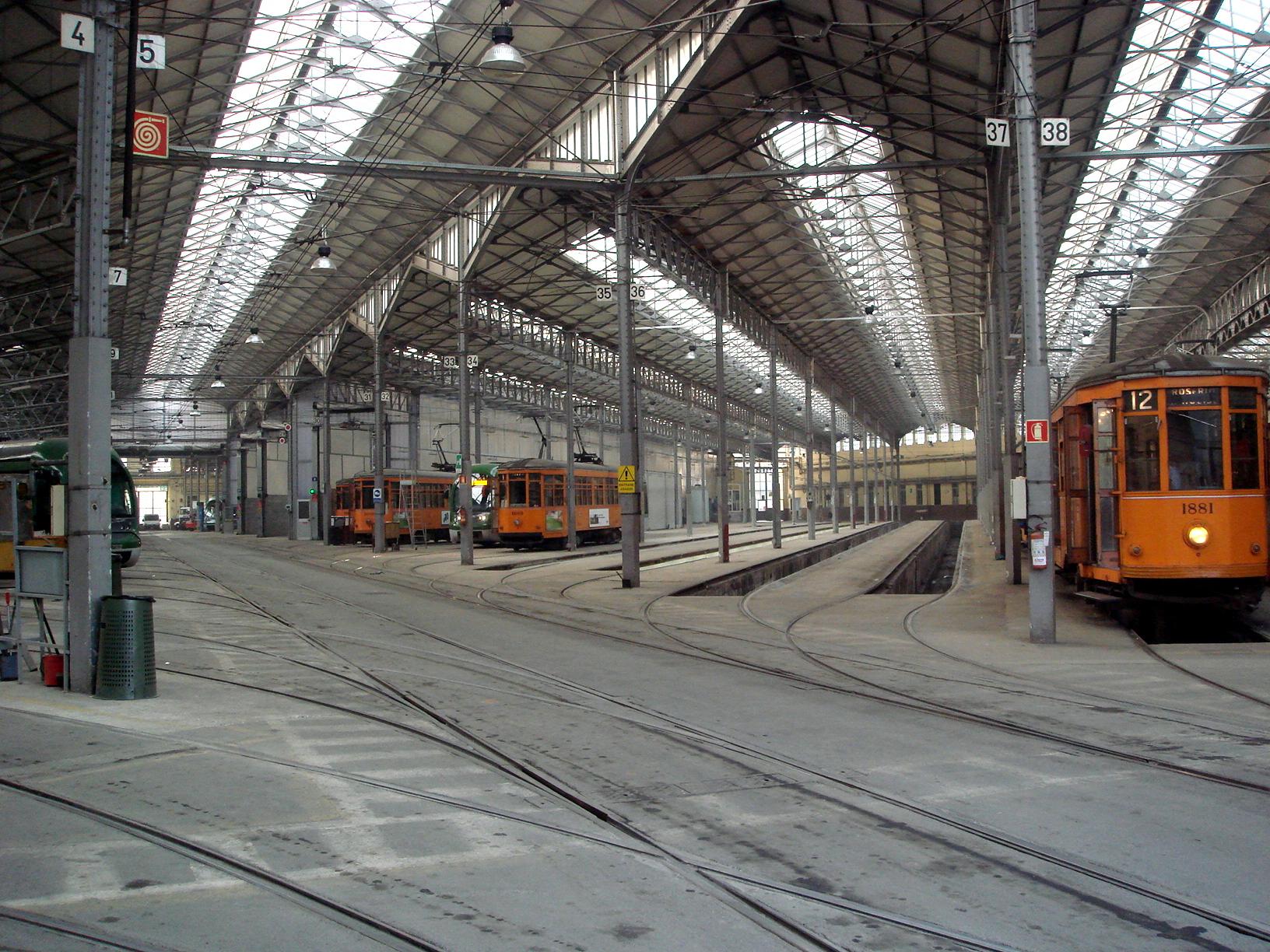Messina tram depot  Wikipedia