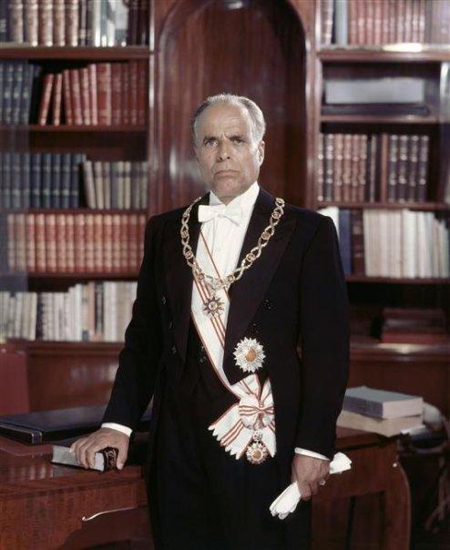 Photo officielle de Habib Bourguiba